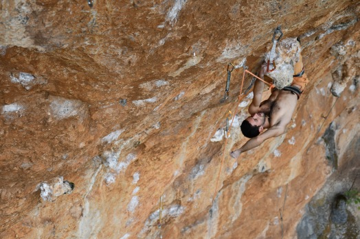 Quand Sylvain ne grimpe pas, il se repose